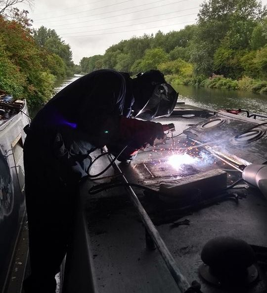 Mobile Boat Welding
